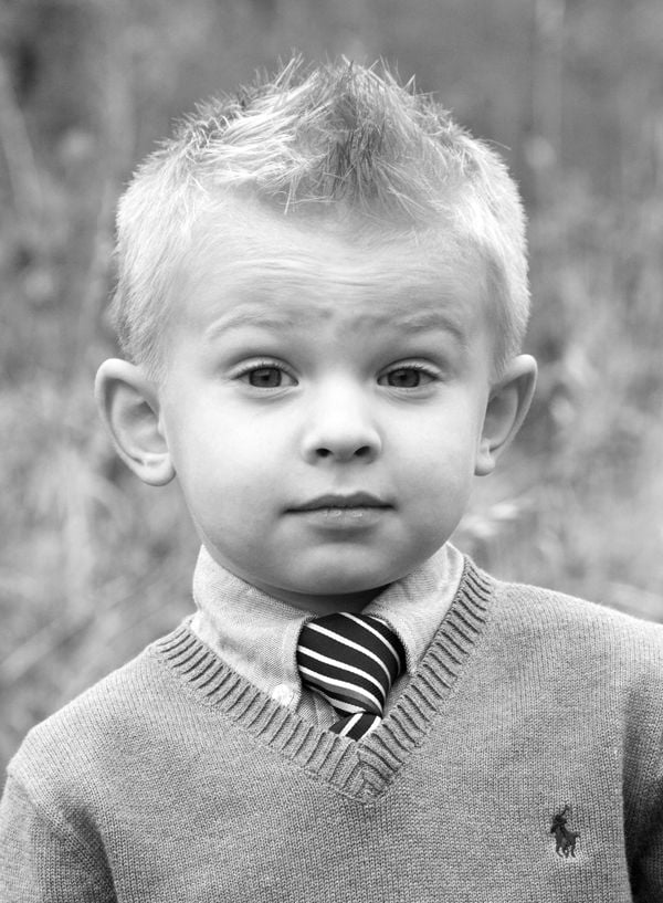 Short Little Boys Hairstyle 6 HAIRSTYLES