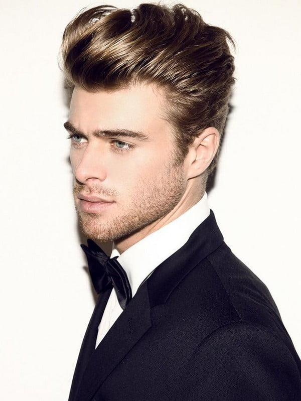 Amazing Pompadour Hairstyle Men