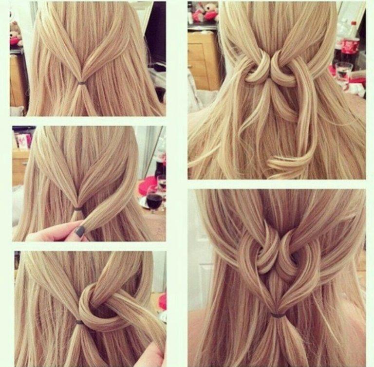 Легкие прически с длинными волосами