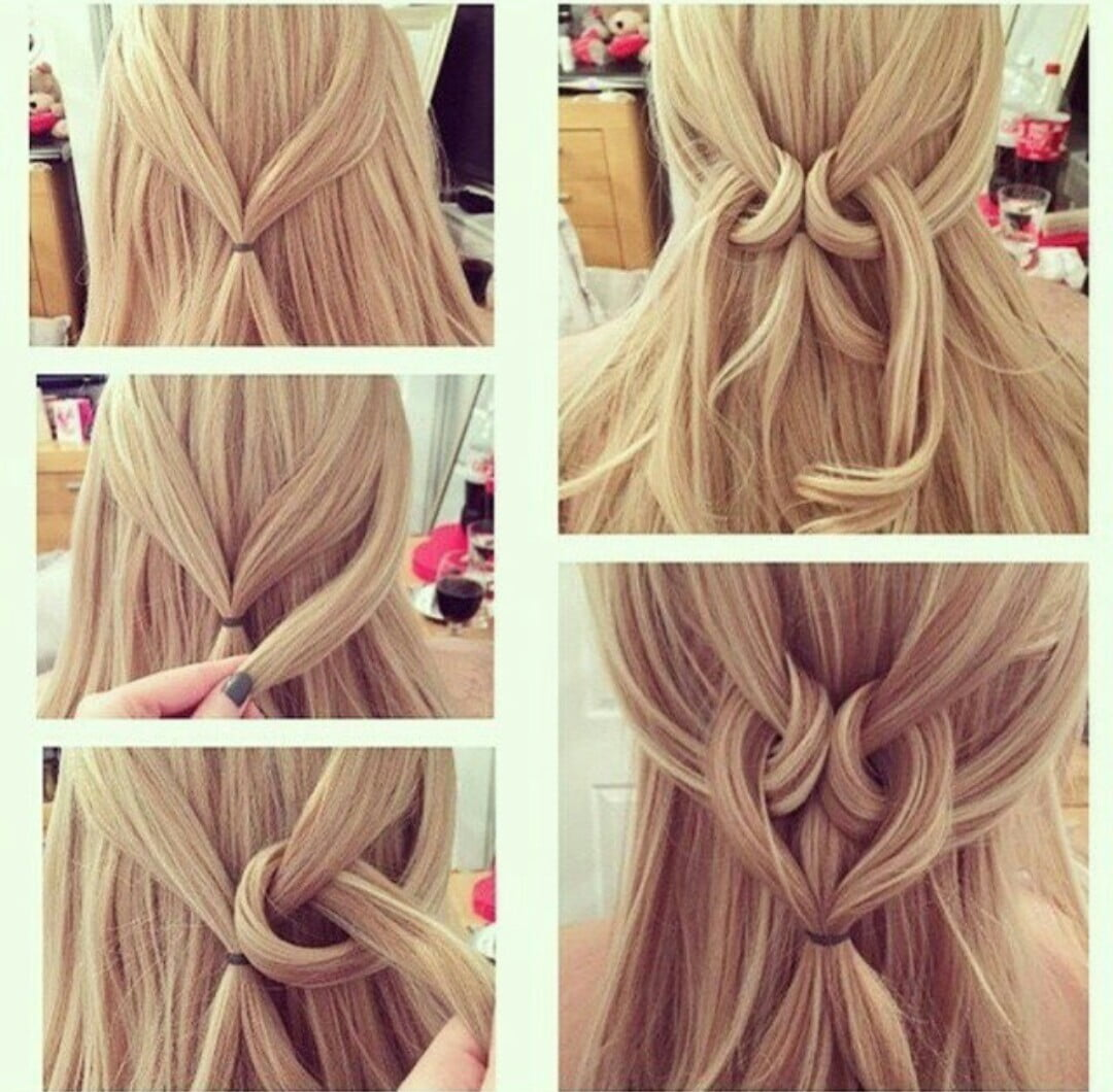 Easy hairstyles for long and medium hair easy blonde hairstyles for long and medium hair urmus Image collections