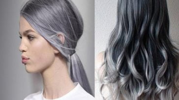 Gray Hairstyles and haircuts 2016-2017
