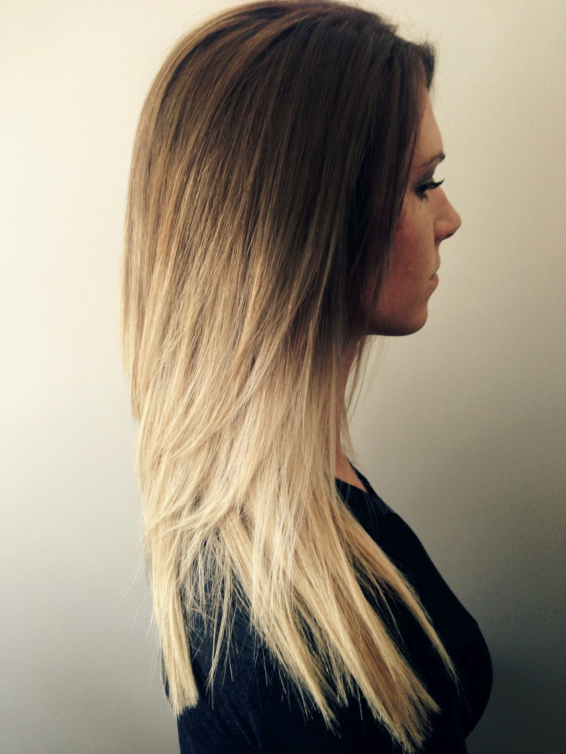Blonde Long Straight Hairstyles Fall - Winter 2016-2017