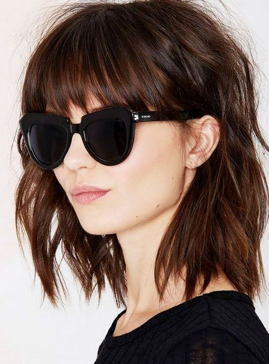 Chocolate Hairstyles For Thin Hair 2017