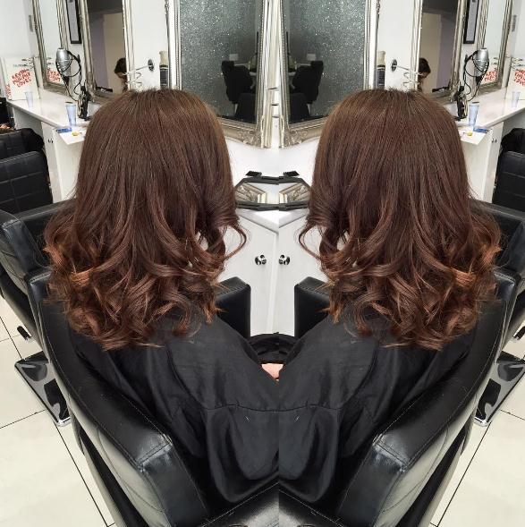 Brown überlagerte Frisuren und Haarschnitte langes Haar 2017