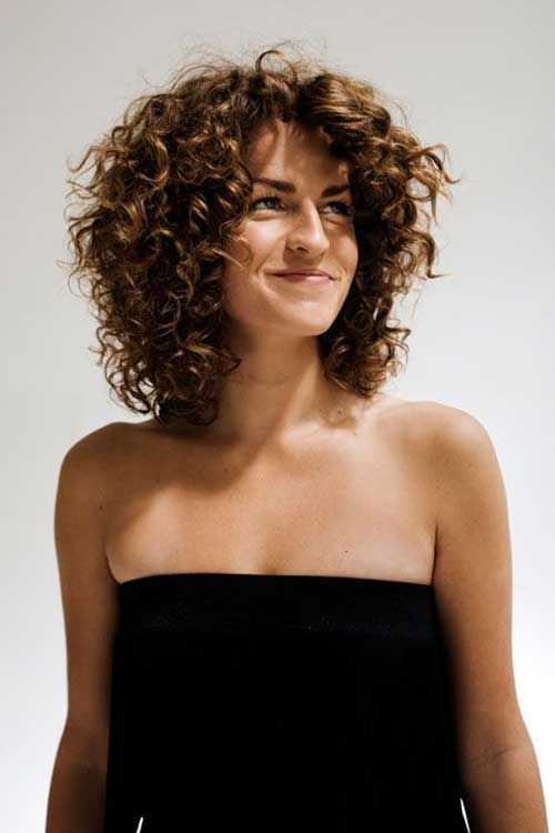 Curly Hairstyles For Medium Hair - Hairstyle to curly hair