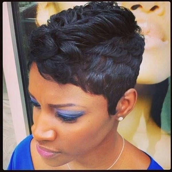 2017 Short Hairstyles For Black American Women Ideas