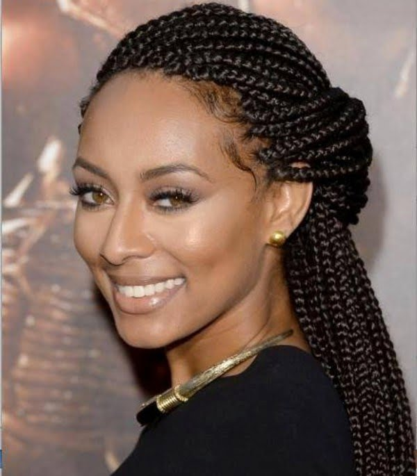 Attractive Braided Hairstyles for Black Women 2016-2017 Source