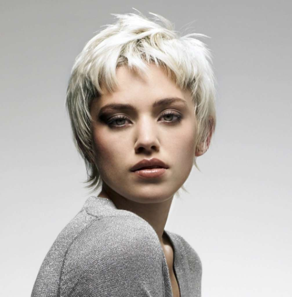 16 Gray Short Hairstyles and Haircuts For