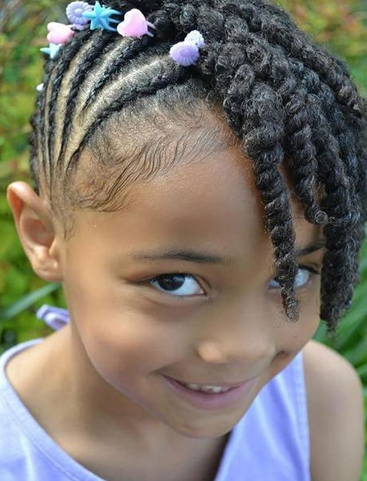 64 Cool Braided Hairstyles For Little Black Girls Page 2