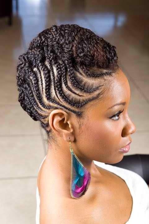 Black Women Twist Braids Short Hairstyles 2017