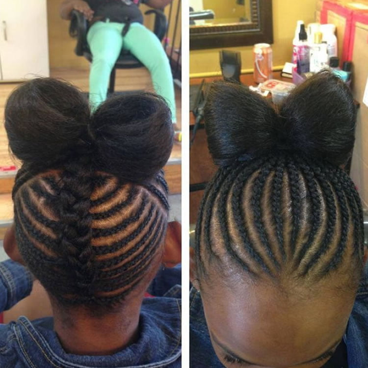 Black Hair Braid Styles For Kids 64 Cool Braided Hairstyles For Little Black Girls  Page 2 Of 7