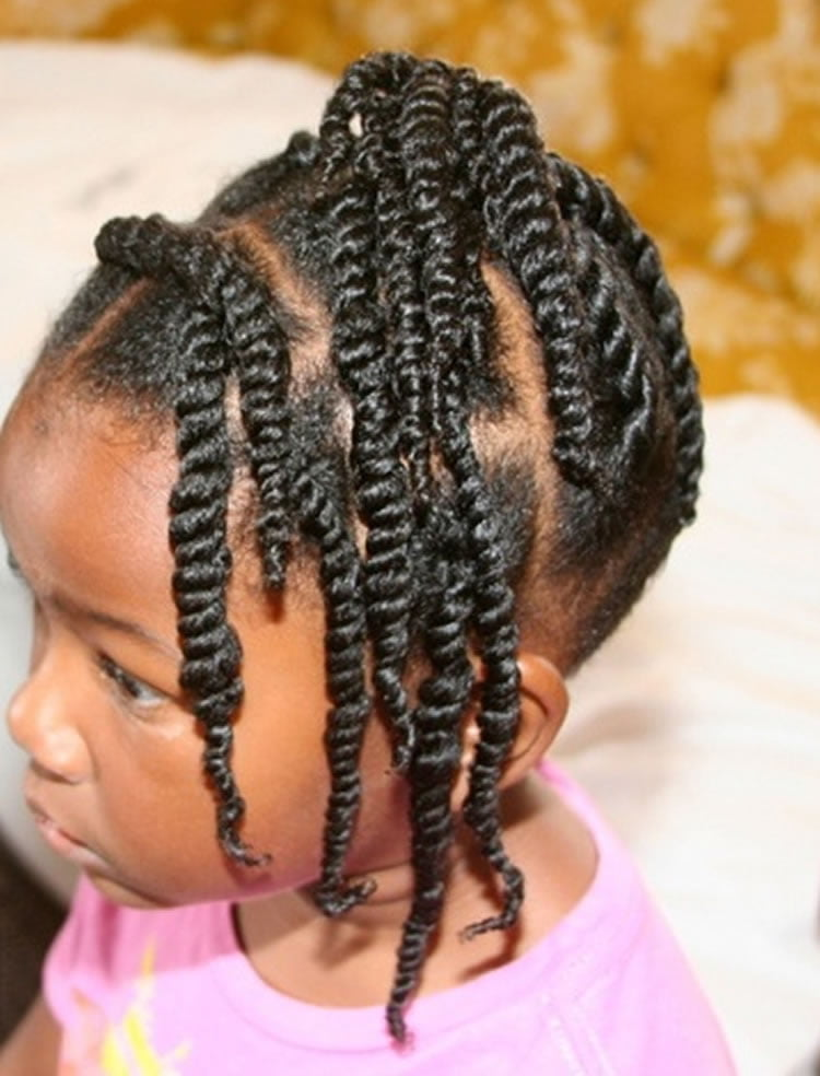 64 Cool Braided Hairstyles for Little Black Girls – Page 2 ...