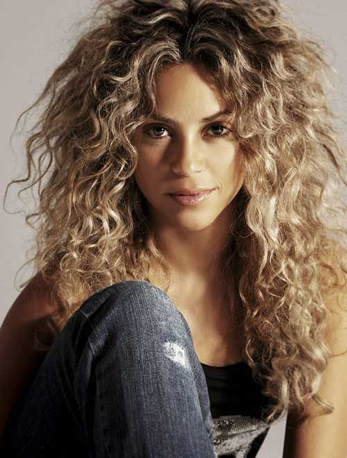 Charming Messy Long Curly Hairstyles For Women 2017 Brown Hair