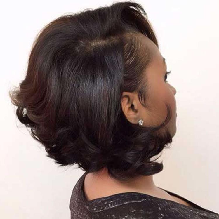 short hairstyles for black women 67 best models 2016. Black Bedroom Furniture Sets. Home Design Ideas
