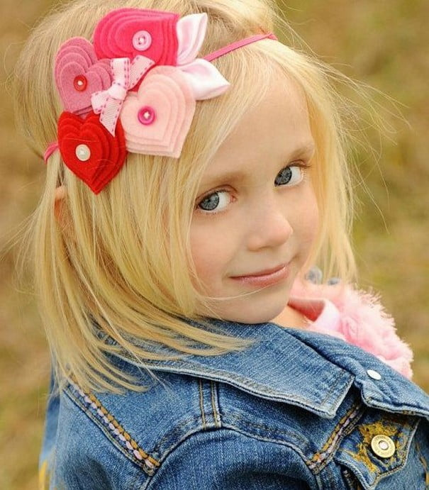 Blonde Girl Hairstyle : Little girls hairstyles 2016 2017 top 15 cute models