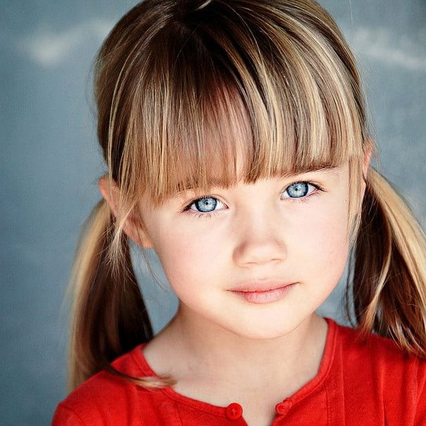 Little Girls Hairstyles Haircuts 2016-2017 With Bangs