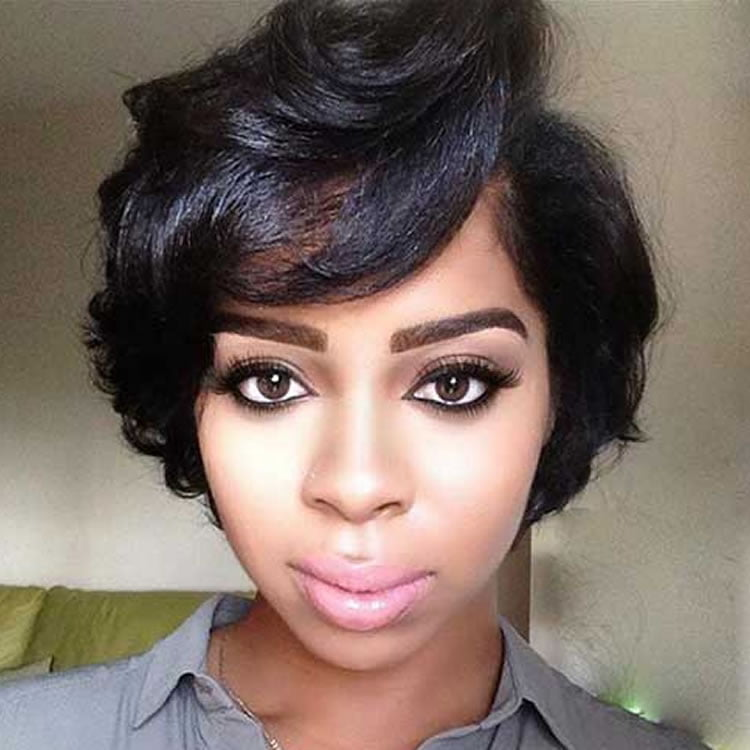 Short Hairstyles for Black Women | 70 Best Models 2018-2019 – Page 5 ...