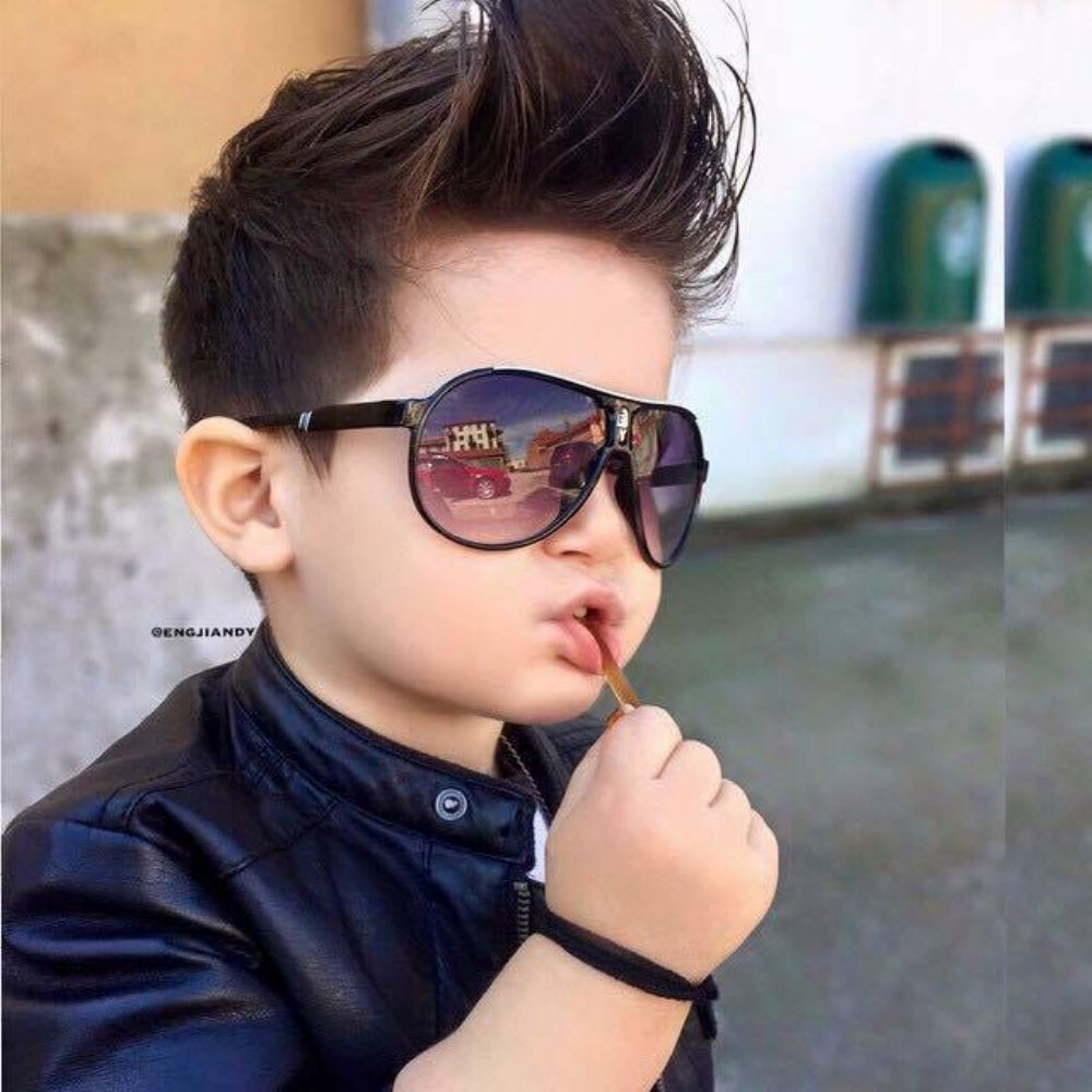Modern Pompadour Hairstyles For Kids Little Boys 2016 2017