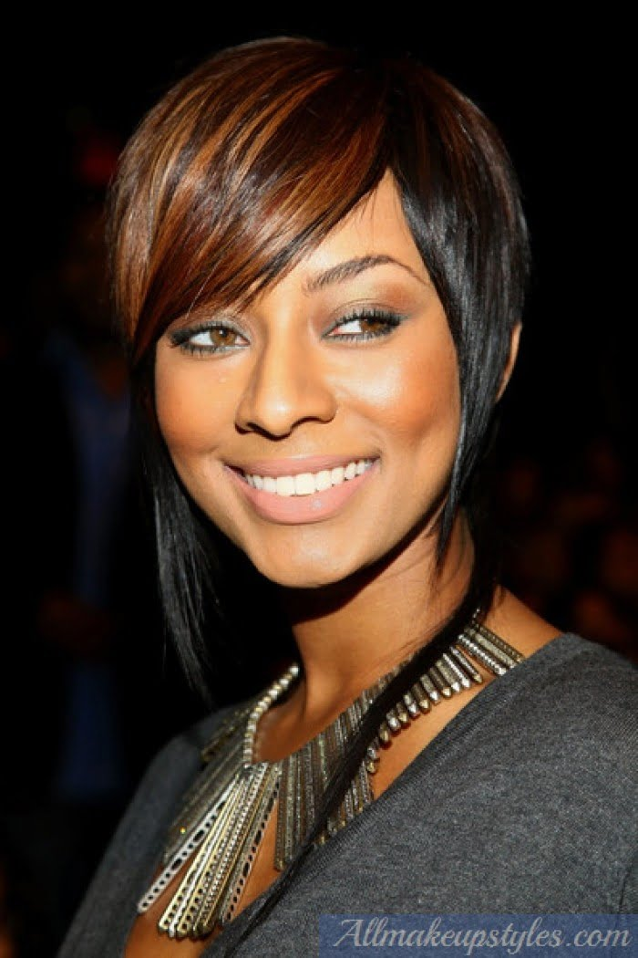 New Short Hairstyles for Black Women 2017 Brown Hair color