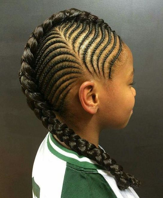 Kid Braid Hairstyles 2017 : Kids girls hairstyles different wodip