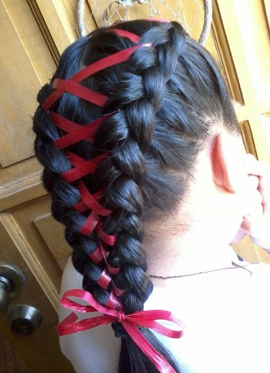 Braided Hairstyes for Girls red-lined 2016-2017