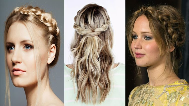 2017 Crown braid hairstyles for women