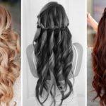 2017 Waterfall Braid hairstyles