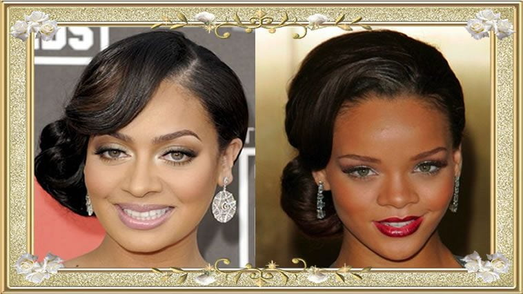 Attractive Vintage Hairstyles For Black Women Buns Hair