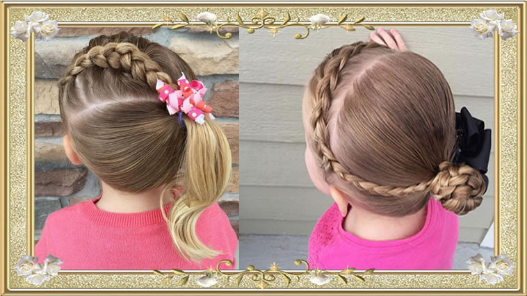 Braided Hairstyles Back School Haircuts Girls