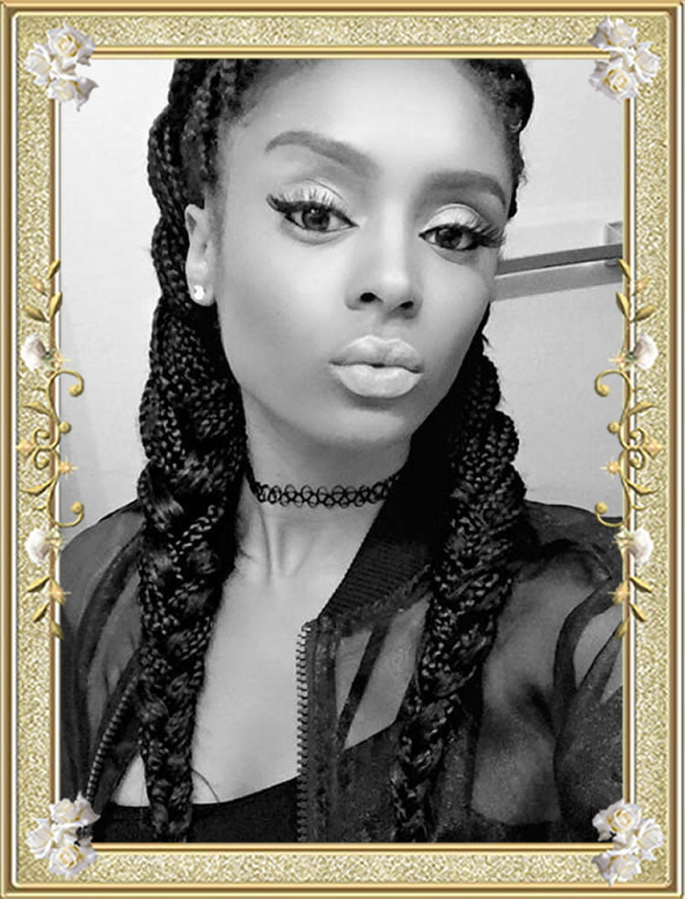 60 Delectable Box Braids Hairstyles for Black Women - Box Braid Hairstyles