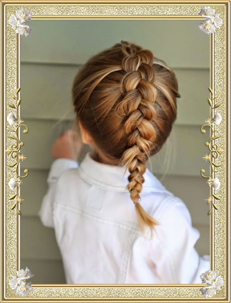 easy braids for school - photo #10