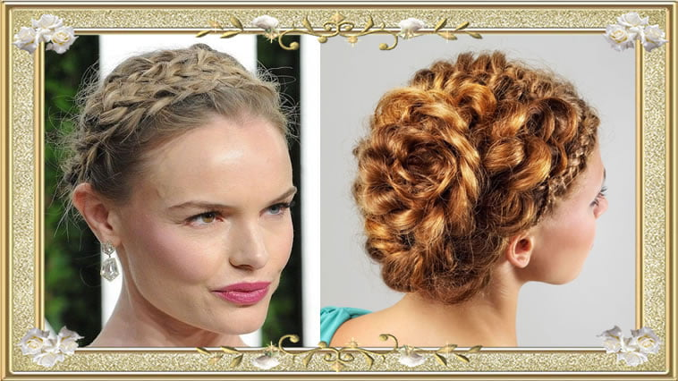 37 Wedding Hairstyles For Black Women To Drool Over 2017: Great Braids With Buns Hairstyle