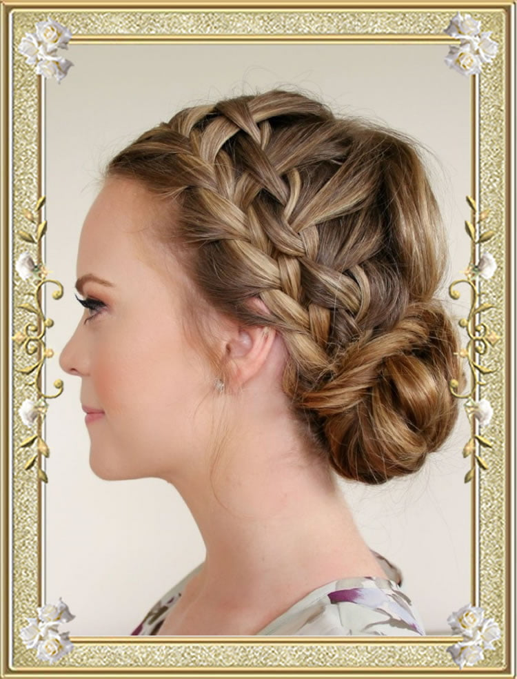 how to make a bun hairstyle with long hair