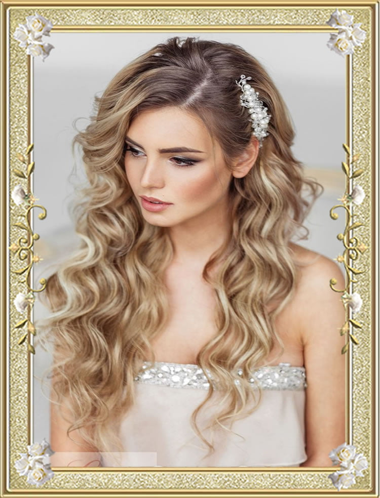 Long Hairstyles for Wedding Guest – HAIRSTYLES