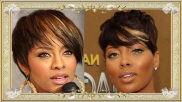Short Hairstyes 2017 for African American Black Women Brown Hair