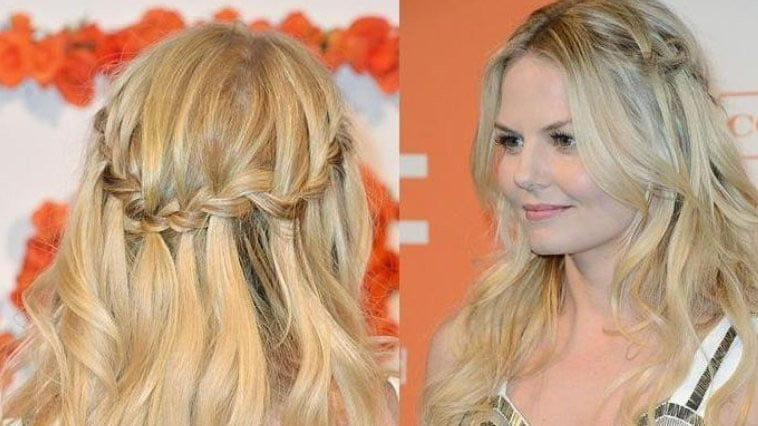 100 Chic Waterfall Braid Hairstyles – How to Step by Step Images & Videos – Page 2 – HAIRSTYLES