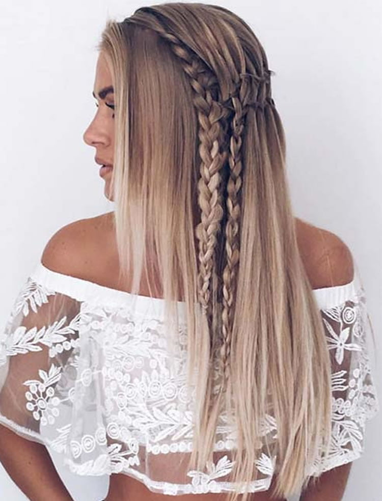 Two FishTail Braids, Easy Prom Braided Hairstyles Two FishTail Braids, Easy Prom Braided Hairstyles new foto