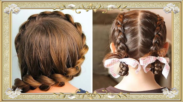Trendy Quick and easy Braided Hairstyles for medium Hair for School ...