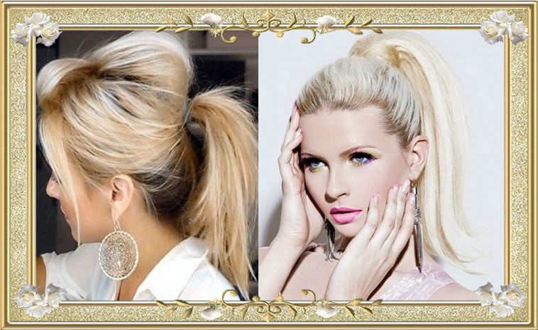 26 ponytail hairstyles for well groomed ladies high updo horsetail updo ponytail hairstyles for long hair pmusecretfo Choice Image