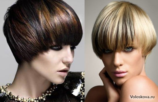 Blonde And Brown Mushroom Hairstyles For Short Hair