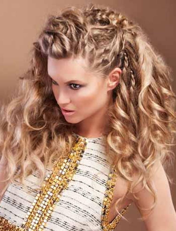 wavy hairstyles for short medium long hair � best 46