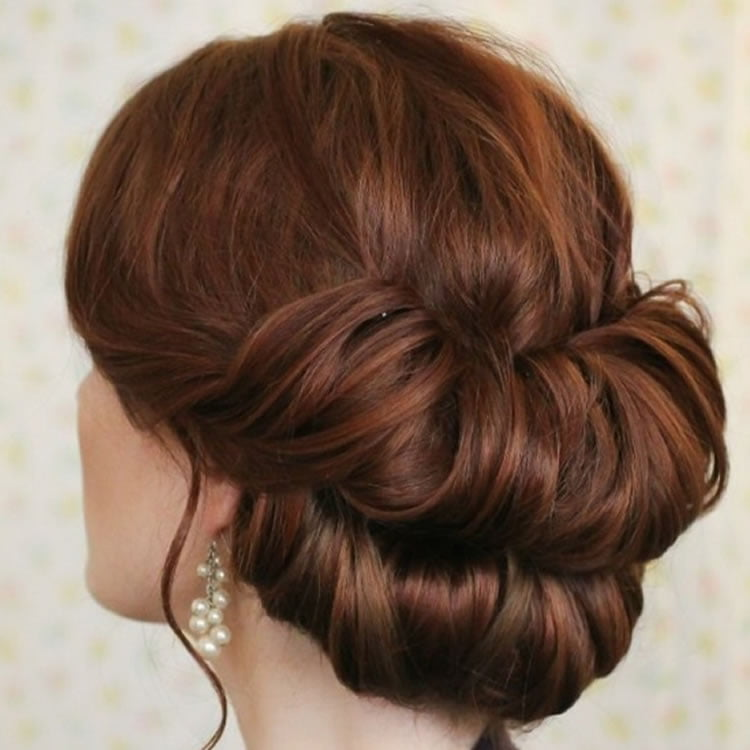 Bun Hairstyle Ideas Tutorials With Pictures And Videos Page Of - Hairstyle bun videos