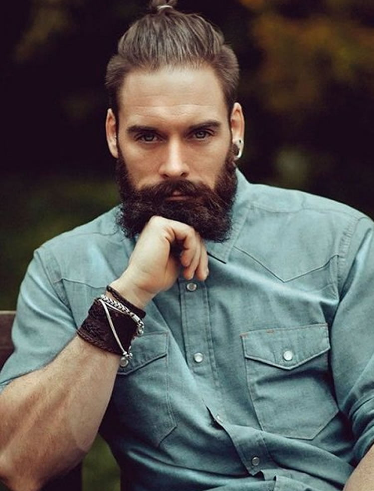 62 Most Stylish And Preferred Hairstyles For Men With Beards In 2017