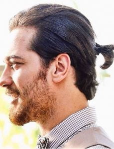 Awesome Charming Ponytail Hairstyles For Men 2017