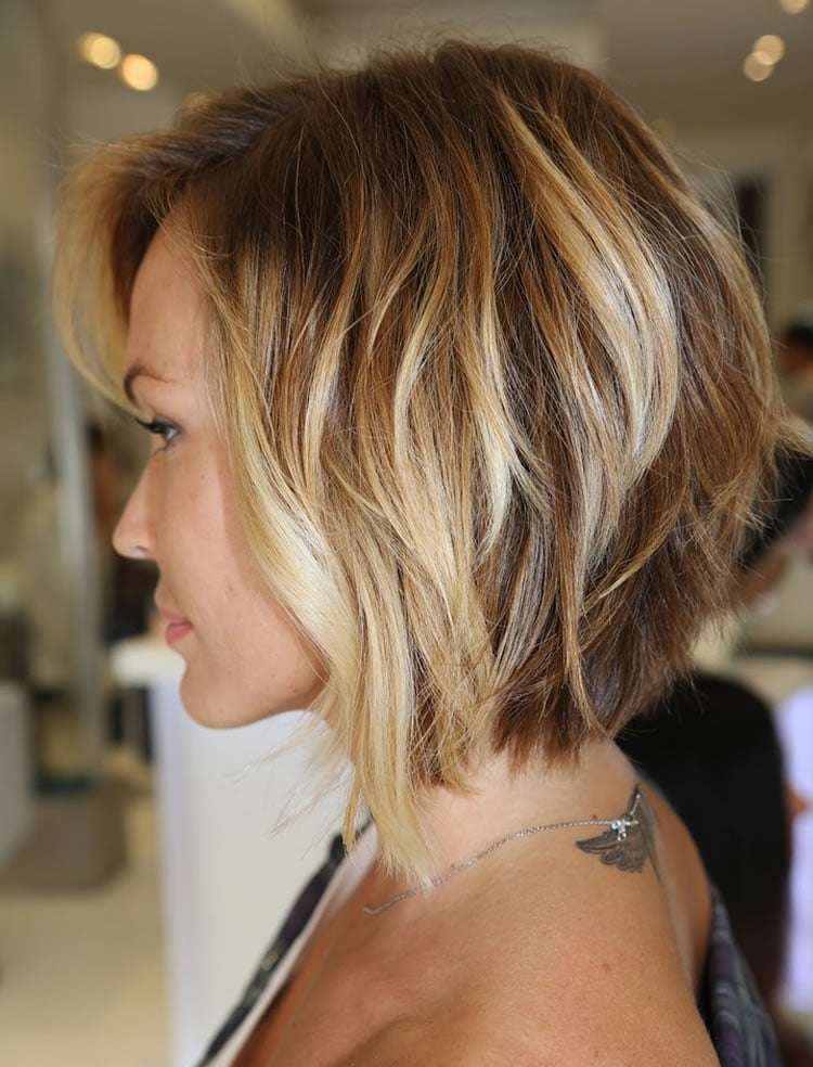 Medium hairstyles for women back