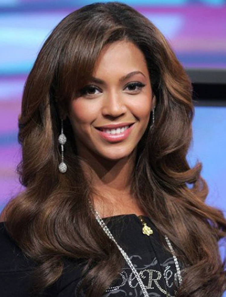 Incredible Long Wavy Hairstyles With Side Bangs 2017