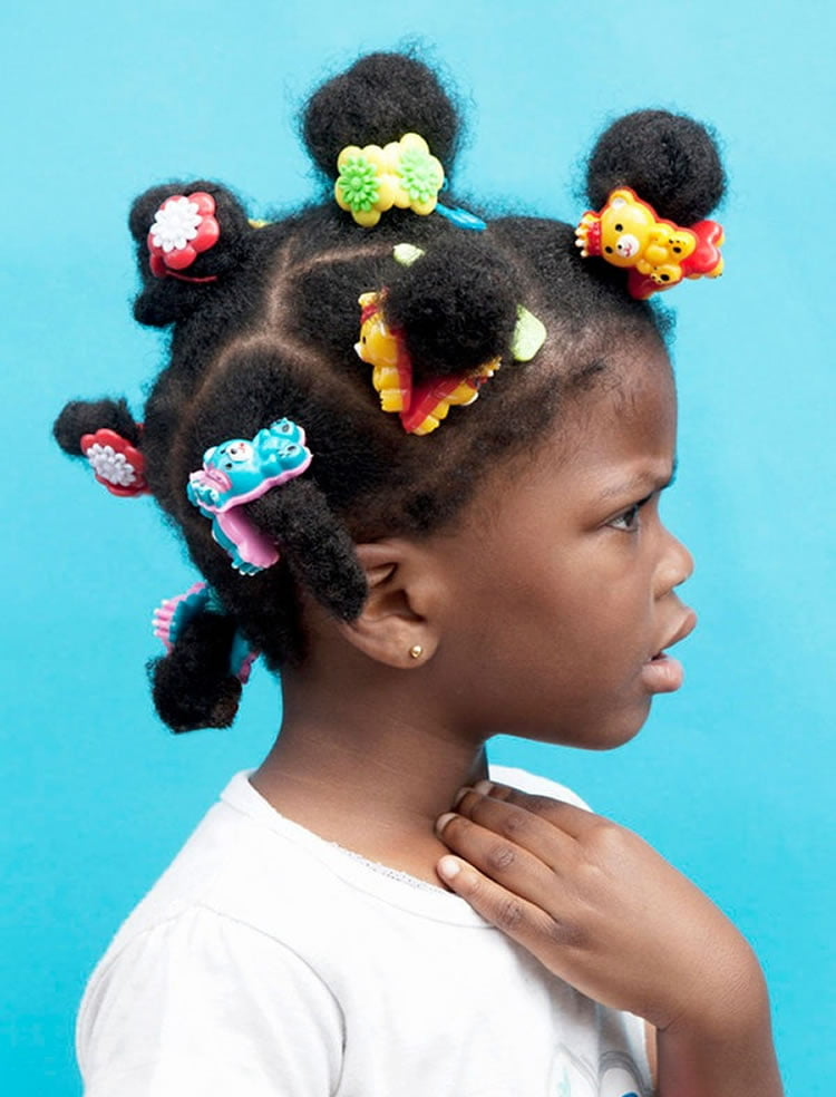 Multiple Buns Hairstyles For Little Black Girls 2017 2018 Hairstyles