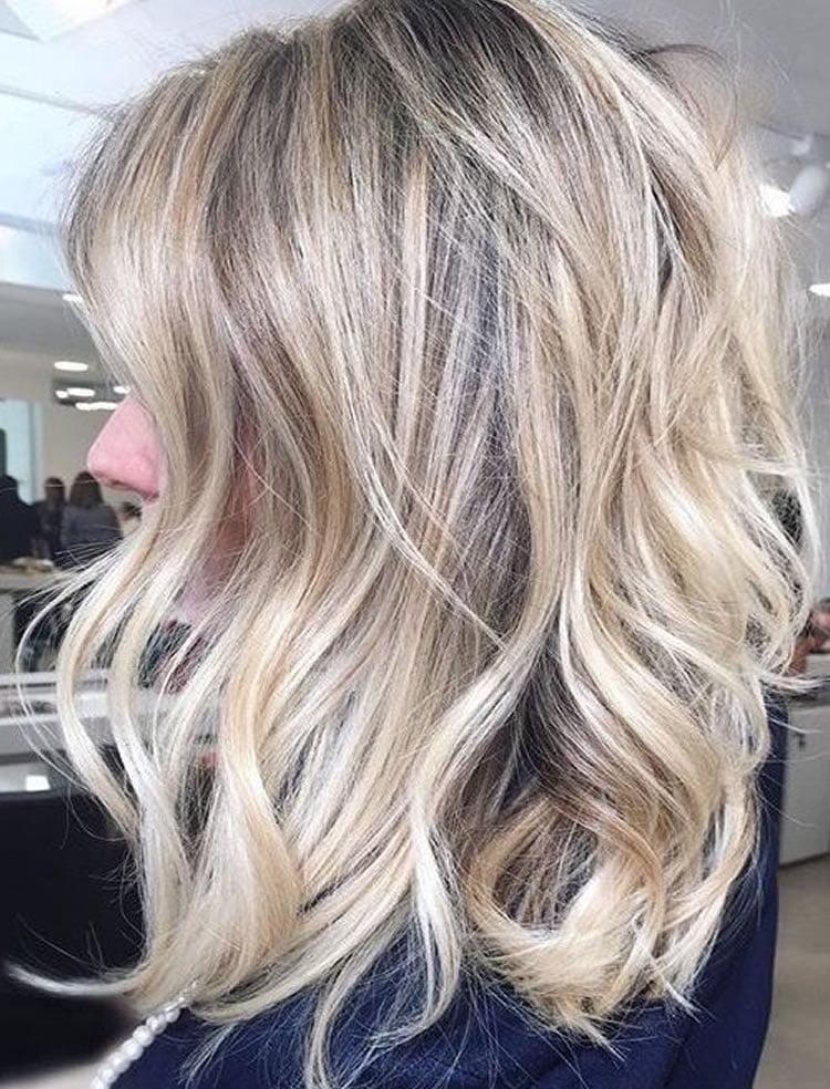 Color for medium hair