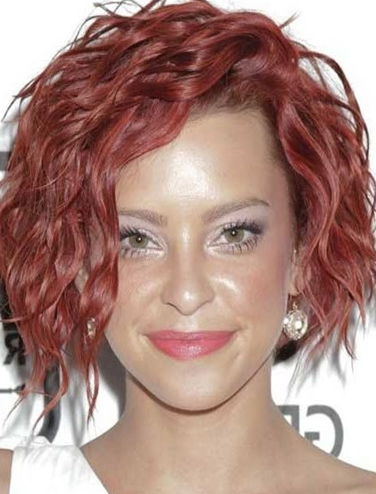 Red short wavy bob hairstyles – HAIRSTYLES
