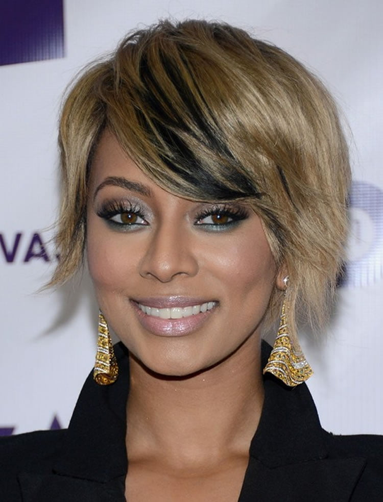 Stylish Ombre on dark short hair for black women – HAIRSTYLES